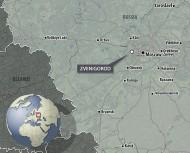 Место находки на карте
